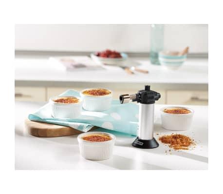 Leifheit Zestaw do crème brûlée, 5 części, srebrny i biały, 03118[7/7]