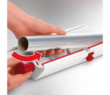 acheter leifheit coupe papier aluminium perfect cut blanc 23051 pas cher. Black Bedroom Furniture Sets. Home Design Ideas