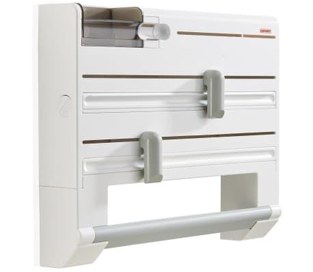 leifheit wand rollenhalter parat plus wei 25723 g nstig kaufen. Black Bedroom Furniture Sets. Home Design Ideas