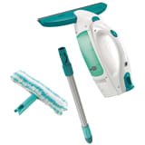 Leifheit Window Vacuum Dry&Clean with Handle & Wiping Brush 51003