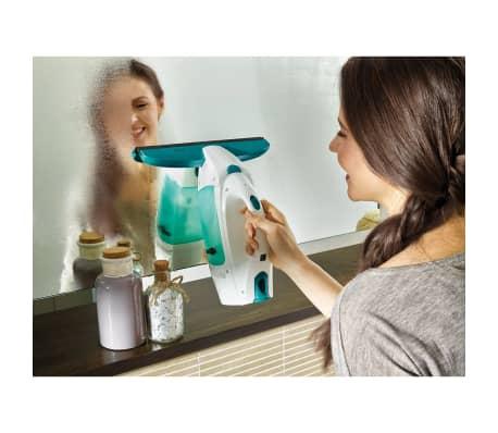 Leifheit Aspiradora de ventana Dry&Clean con mango y cepillo 51003[5/10]