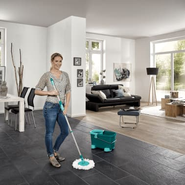 Leifheit Set de Fregona Clean Twist verde 52052[12/12]