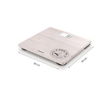 Soehnle Pèse-personne de salle de bain Bamboo 180 kg Blanc 63845[7/7]