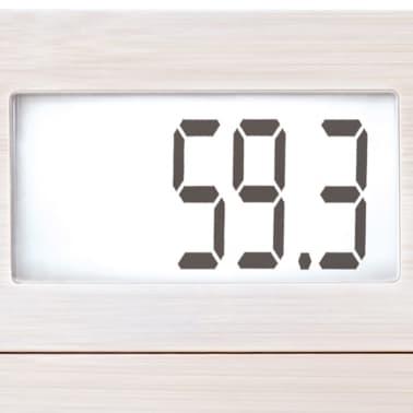 Soehnle Pèse-personne de salle de bain Bamboo 180 kg Blanc 63845[3/7]