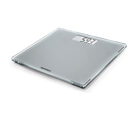 Soehnle Waga łazienkowa Style Sense Compact 300, 180 kg, srebrna[1/9]