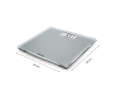 Soehnle Waga łazienkowa Style Sense Compact 300, 180 kg, srebrna[8/9]