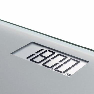 Soehnle Waga łazienkowa Style Sense Compact 300, 180 kg, srebrna[4/9]