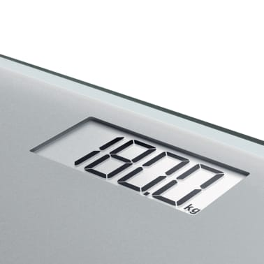 Soehnle Waga łazienkowa Style Sense Compact 300, 180 kg, srebrna[5/9]
