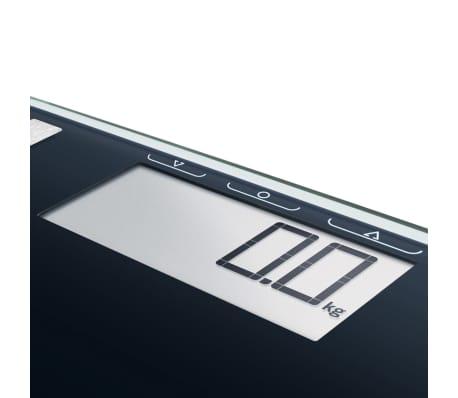 Soehnle Bathroom Scales Body Weight Shape Sense Control 100 180 kg Black