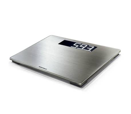 Soehnle Waga łazienkowa Style Sense Safe 300, 180 kg, srebrna, 63867
