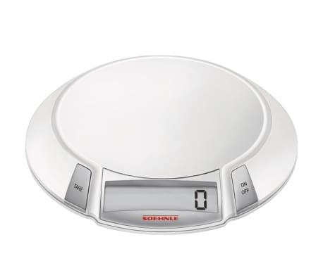 acheter soehnle balance de cuisine olympia 5 kg blanc 66110 pas cher. Black Bedroom Furniture Sets. Home Design Ideas