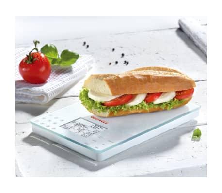 acheter soehnle balance de cuisine food control easy 5 kg blanc 66130 pas cher. Black Bedroom Furniture Sets. Home Design Ideas