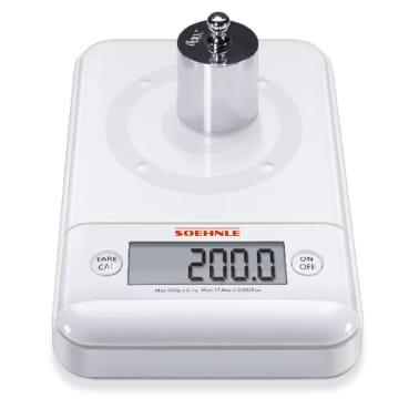 acheter soehnle balance de cuisine ultra 2 0 0 5 kg blanc 66150 pas cher. Black Bedroom Furniture Sets. Home Design Ideas