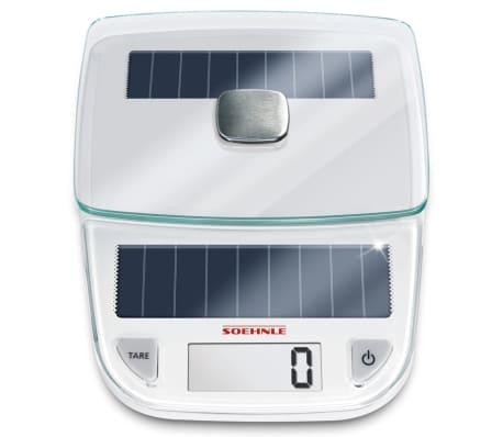 Acheter soehnle balance de cuisine easy solar 5 kg blanc 66183 pas cher - Balance de cuisine 10 kg ...