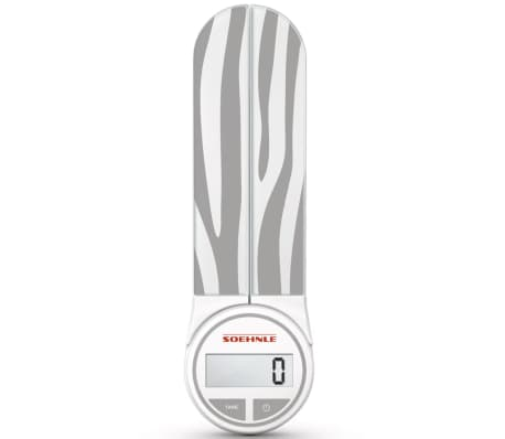 acheter soehnle balance de cuisine genio 5 kg gris 66227 pas cher. Black Bedroom Furniture Sets. Home Design Ideas