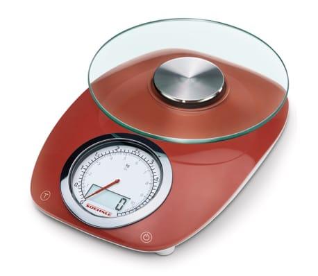 Soehnle Balanza de cocina Vintage Style 5 kg rojo 66229