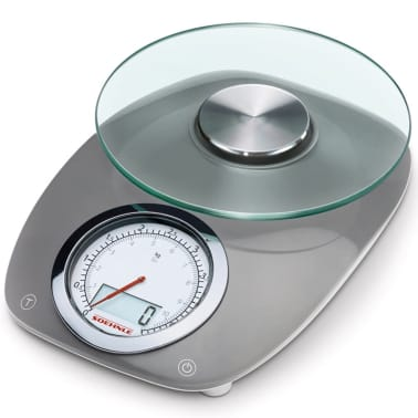 Soehnle Kitchen Scales Vintage Style 5 Kg Grey 66231 Vidaxl Co Uk