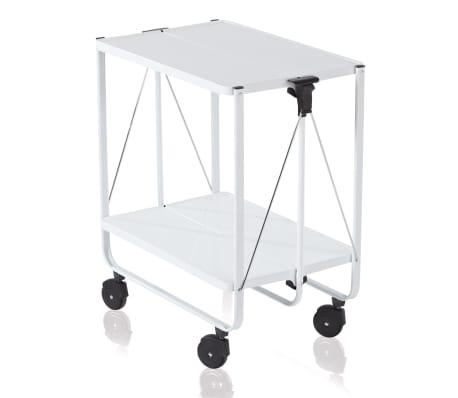 Leifheit Sulankstomas virtuvės vežimėlis, baltas 74236
