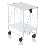 Leifheit Folding Kitchen Trolley White 74236