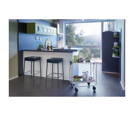 Leifheit Sulankstomas virtuvės vežimėlis, baltas 74236[2/7]