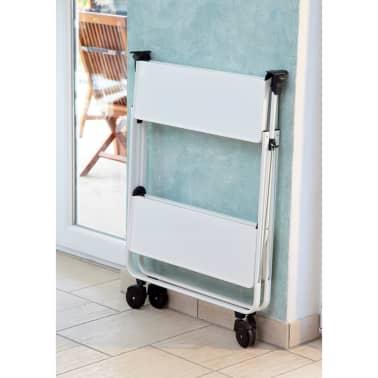 Leifheit Sulankstomas virtuvės vežimėlis, baltas 74236[7/7]