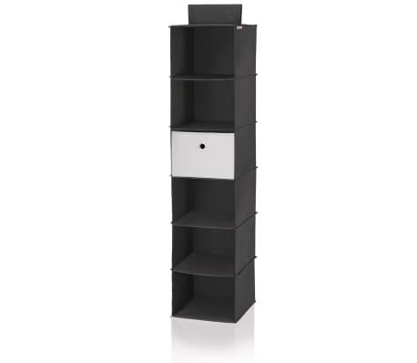 Leifheit Estante colgante para armario negro 30x30x125 cm 80003[2/8]