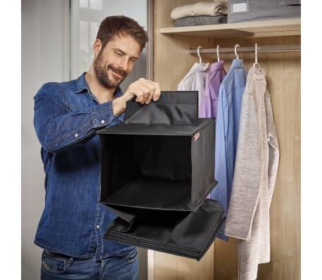 Leifheit Estante colgante para armario negro 30x30x125 cm 80003[4/8]