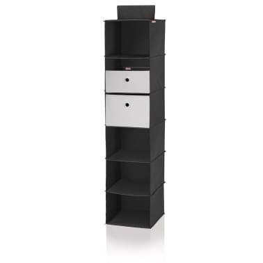 Leifheit Estante colgante para armario negro 30x30x125 cm 80003[3/8]