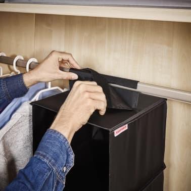 Leifheit Estante colgante para armario negro 30x30x125 cm 80003[5/8]