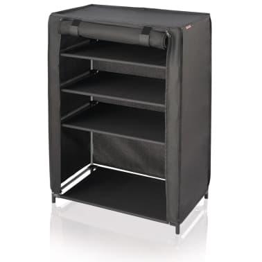 Leifheit Mueble zapatero 60x35x81,5 cm negro 80005[1/7]