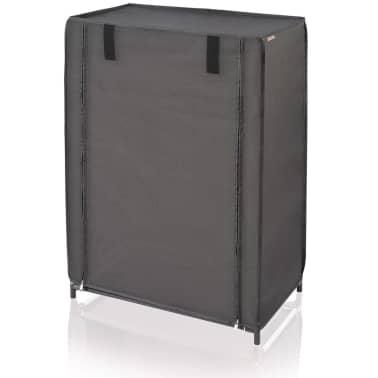 Leifheit Mueble zapatero 60x35x81,5 cm negro 80005[2/7]
