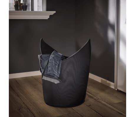 Leifheit Cesto para la ropa 60x35x80 cm negro 80021[5/7]
