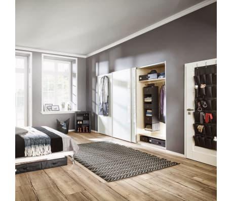 Leifheit Cesto para la ropa 60x35x80 cm negro 80021[6/7]