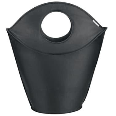Leifheit Cesto para la ropa 60x35x80 cm negro 80021[3/7]