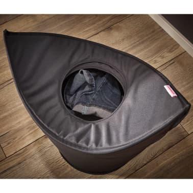 Leifheit Cesto para la ropa 60x35x80 cm negro 80021[4/7]