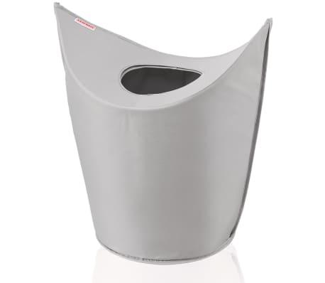 Leifheit Cesto para la ropa 60x35x80 cm gris 80022[2/7]