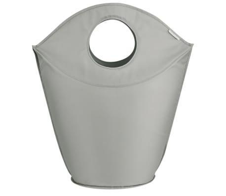 Leifheit Cesto para la ropa 60x35x80 cm gris 80022[3/7]