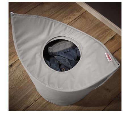 Leifheit Cesto para la ropa 60x35x80 cm gris 80022[4/7]