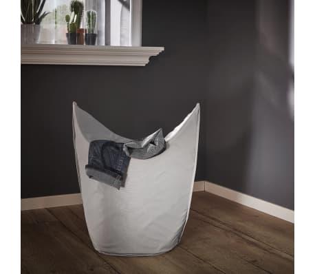 Leifheit Cesto para la ropa 60x35x80 cm gris 80022[5/7]