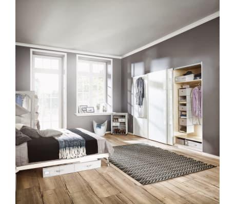 Leifheit Cesto para la ropa 60x35x80 cm gris 80022[6/7]