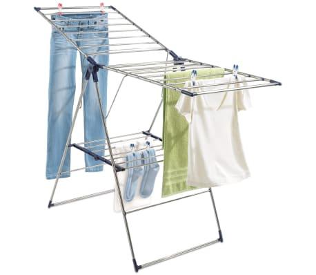 acheter s choir linge en acier inoxydable roma 150 leifheit 81156 pas cher. Black Bedroom Furniture Sets. Home Design Ideas
