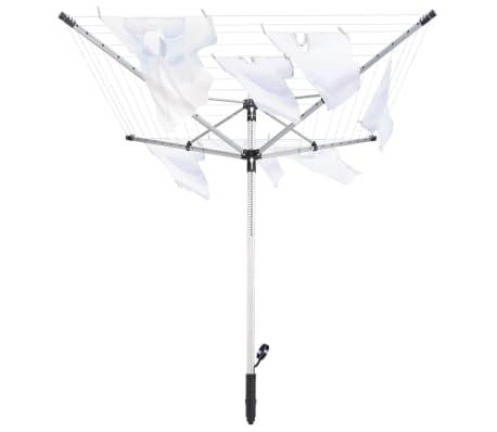 leifheit w scheleine w schespinne st nder linopush 500 silbern schwarz 85360 ebay. Black Bedroom Furniture Sets. Home Design Ideas