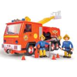 Simba Camión de bomberos de juguete Jupiter 2.0 rojo y amarillo 28 cm