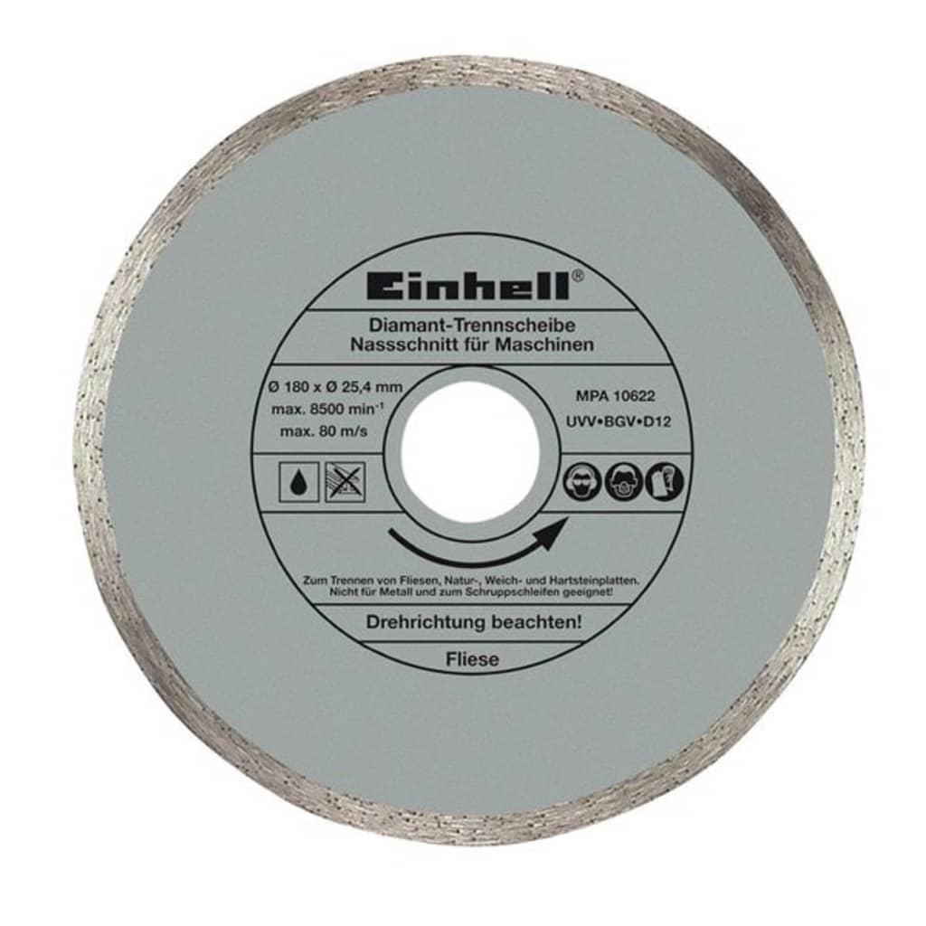 Afbeelding van Einhell diamantslijpschijf 180 x 25,4 mm voor RT-TC 430 U, TC-TC 618