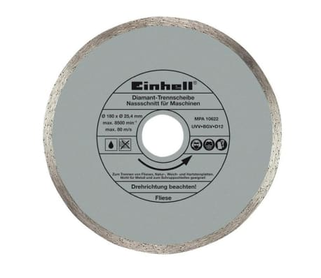 EINHELL - Disque diamanté Ø 180 x Ø 25.4[1/2]