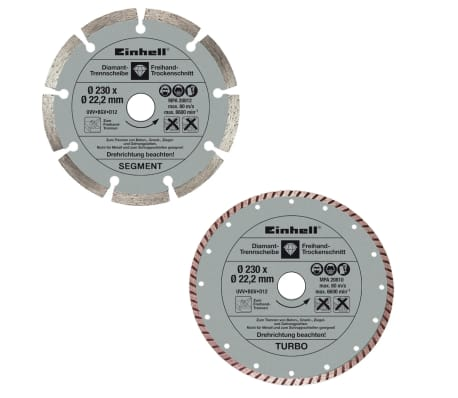 EINHELL - Disques diamantés 230 mm[2/3]