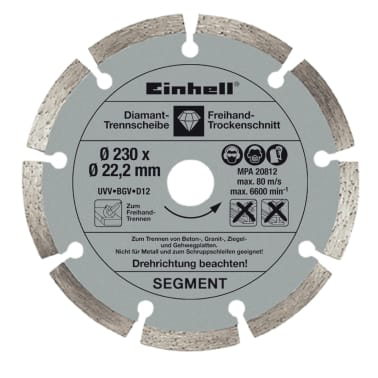 EINHELL - Disques diamantés 230 mm[3/3]
