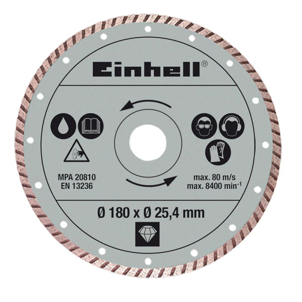 Afbeelding van Einhell turboslijpschijf 180 x 25,4 mm voor RT-TC 430 u en TC-TC 618