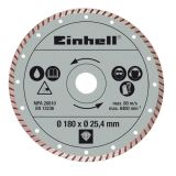 Einhell Turbo Cutting Disc 180 x 25.4 mm for RT-TC 430 U, TC-TC 618