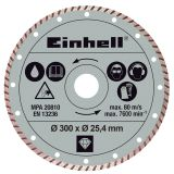 Einhell Turbo kutteskive 300 x 25,4 mm for RT-SC 920 L